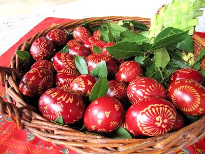 Uskrsne radionice pletenja pomica i penganja jaja