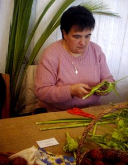 Pletenje poma, jedna od DEŠINIH radionica
